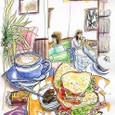 カフェ「Wake cafe」